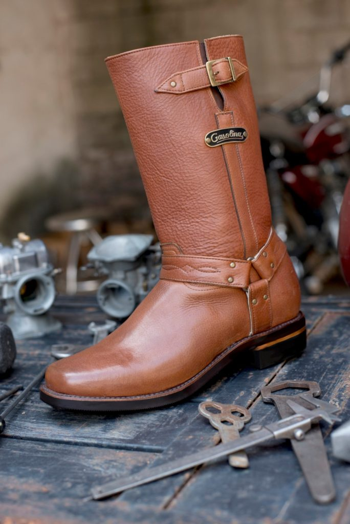 gasolina harness boots - brown