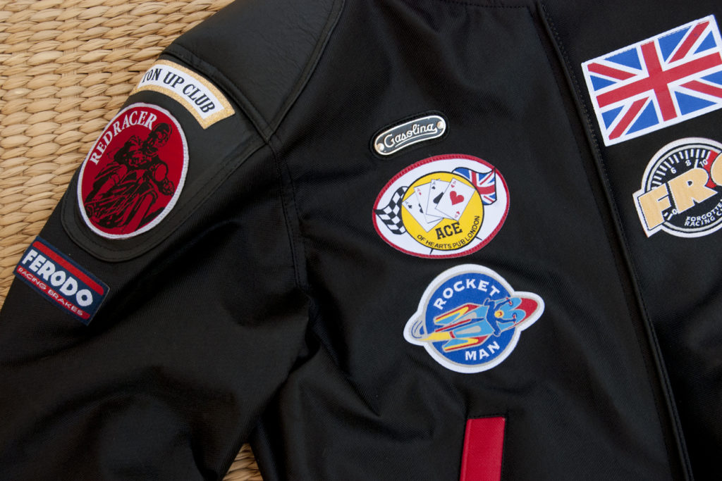 Detail of patches