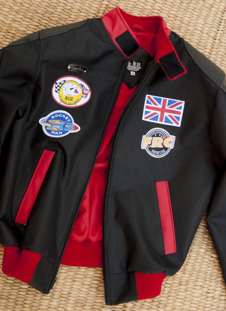 Interior of jacket