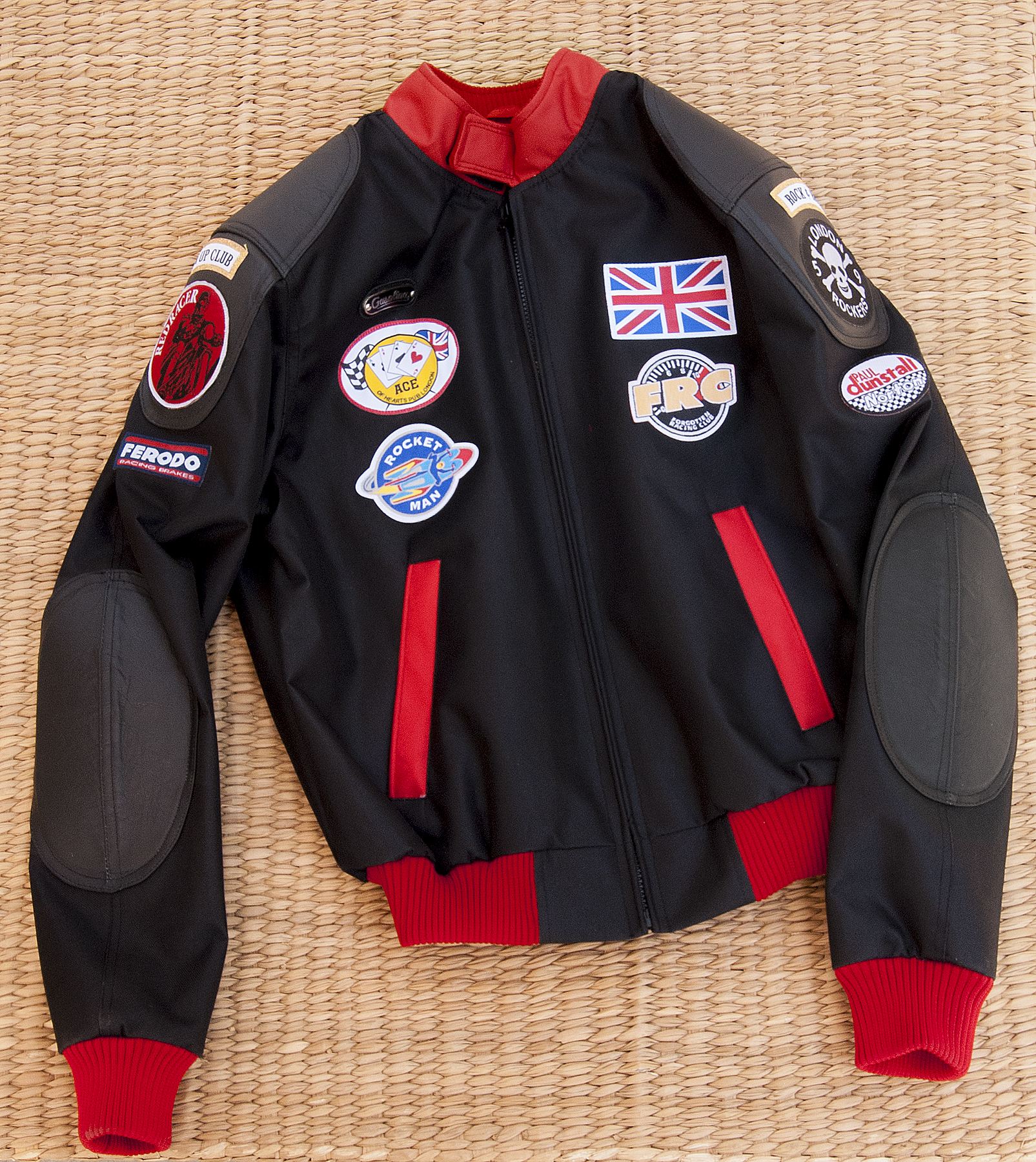 "Gasolina ""Cafe Racer"" Fabric Bomber Jacket – Gasolina Boots"