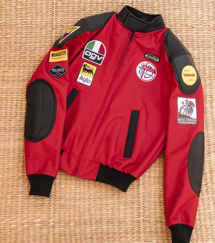 Cafe Racer Jacket - Italian Red